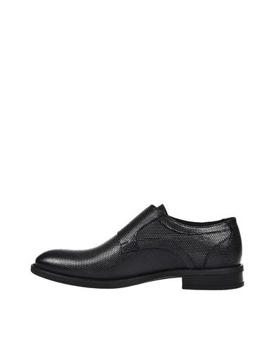 Dr.Flexer 304006 HakıkıDerıErkek Comfort Ayakkabı Sıyah Açma Siyah